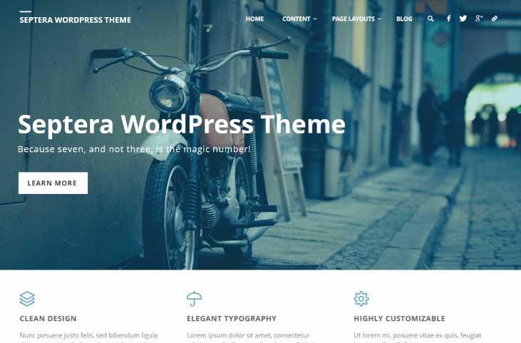 septera wordpress theme