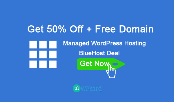 Bluehost Deal – 50% Off on WordPress Hosting – Bluehost Coupon Code