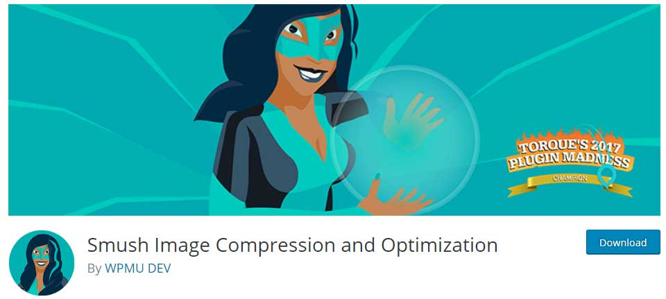 wp smush image compression wordpress plugin