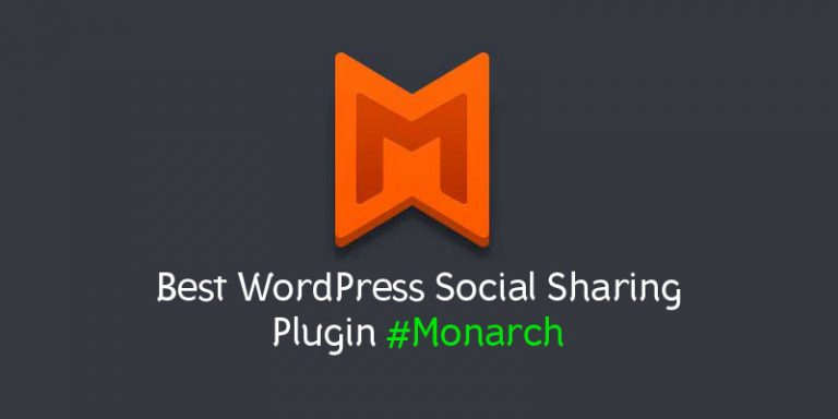 Monarch by ElegantTheme – Best WordPress Social Sharing Plugin